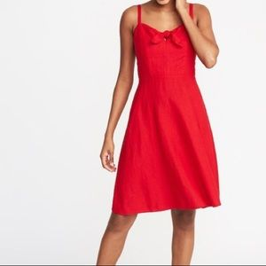 NWOT Old Navy Fit & Flare Pinup Dress